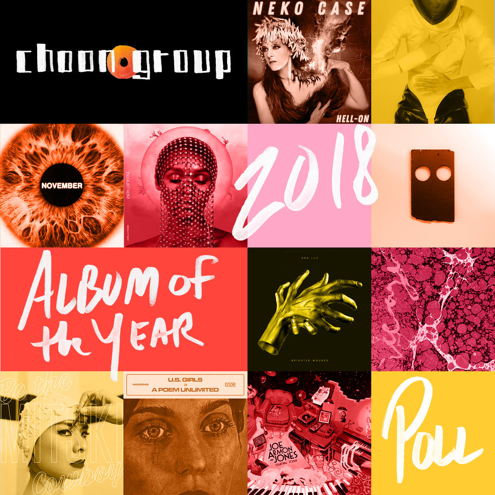 2018 ALBUMS OF THE YEAR - Our FUll user poll results