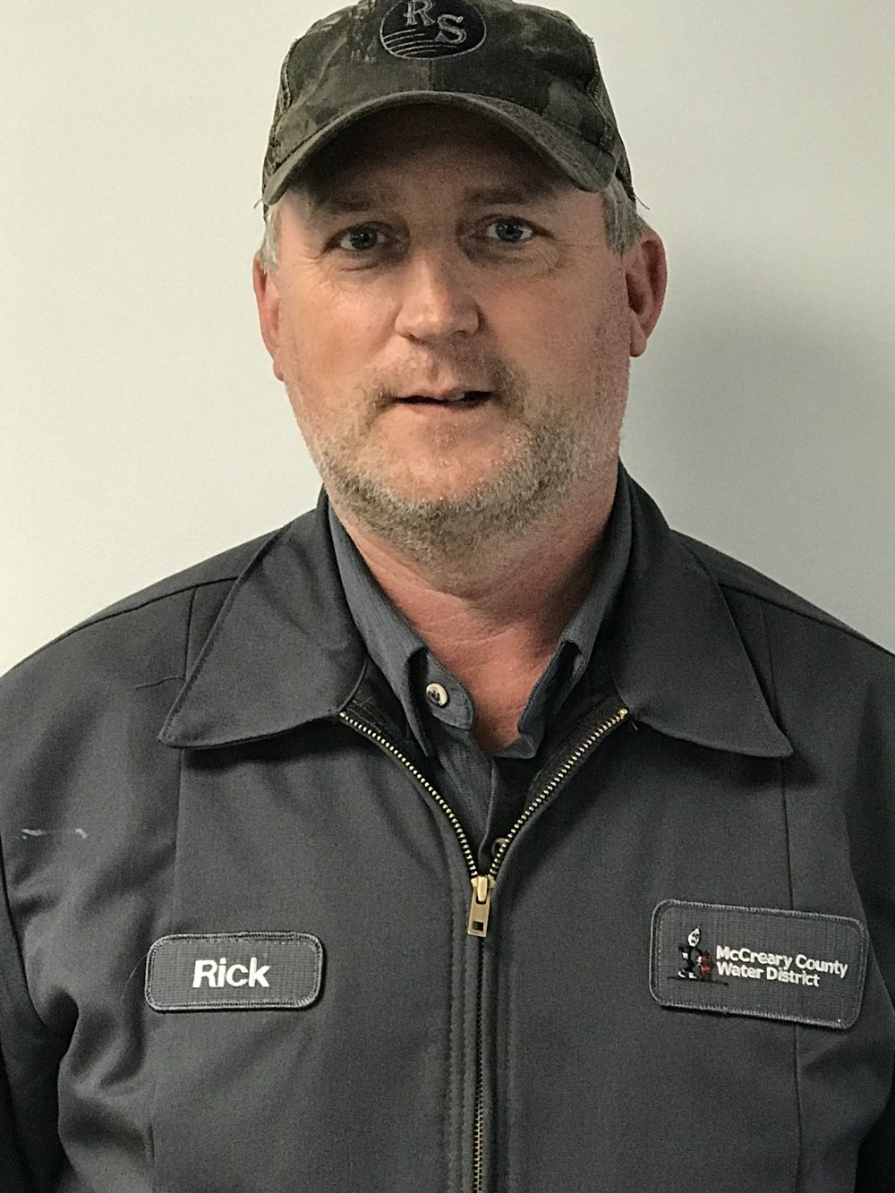 RICK WATTERS  has worked at the water district since 2000 and serves as our Line Crew Foreman. He holds Drinking Water Distribution Class IV and Waste Water Collection Class II Certifications.