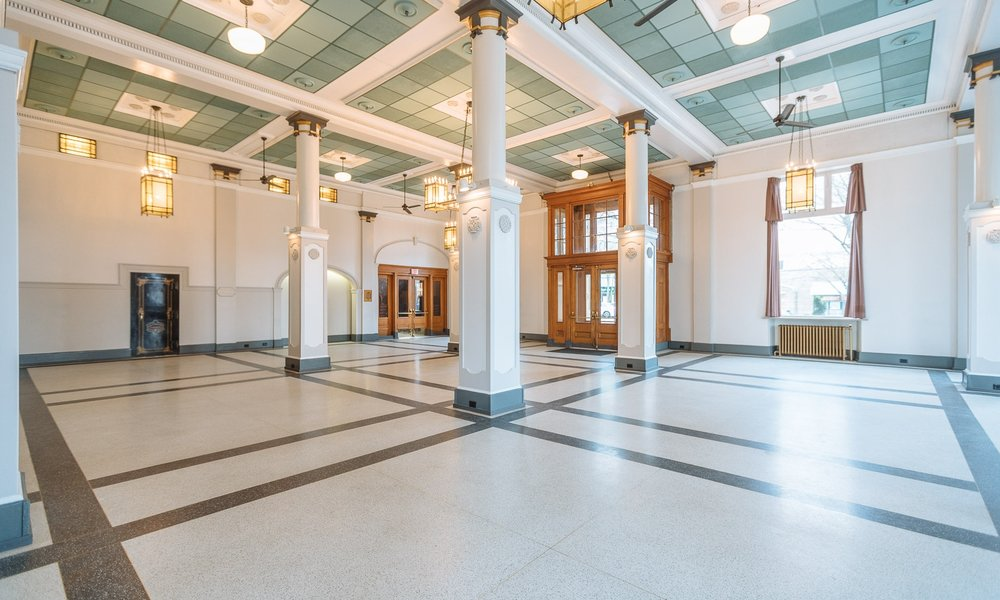 HERITAGE HALL - LOCATION: VANCOUVERRECEPTION: 220  |  DINING: 150