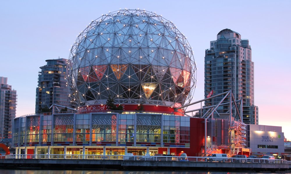 TELUS WORLD OF SCIENCE - LOCATION: VANCOUVERRECEPTION: 1800 | DINING: 1000
