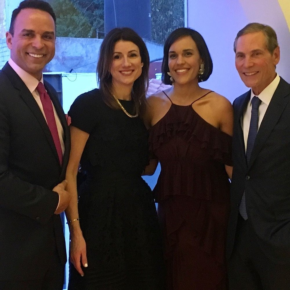 Above (from left): Sotheby's International Realty Affiliates LLC representatives included Michael Valdes, Global Vice President of International Servicing; Julie Leonhardt LaTorre, Chief Operating Officer; Daniela Frewa, Director International Marketing and Servicing of CALA, and Philip White, President and Chief Executive Officer.