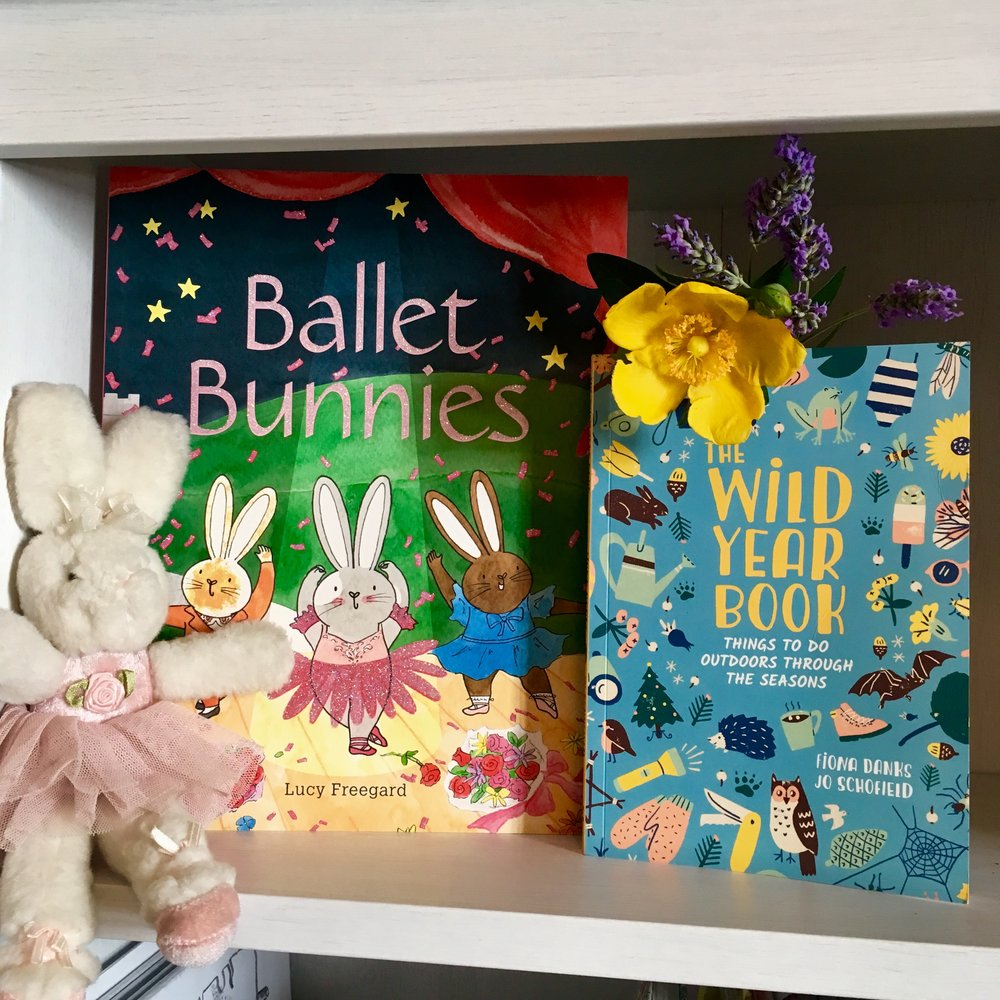 Published this week! Fiona Danks and Jo Schofield's Wild Year Book is full of nature-inspired activities, perfect for the holidays. And little ones will love Lucy Freegard's adorable Ballet Bunnies. - 6 July 2018