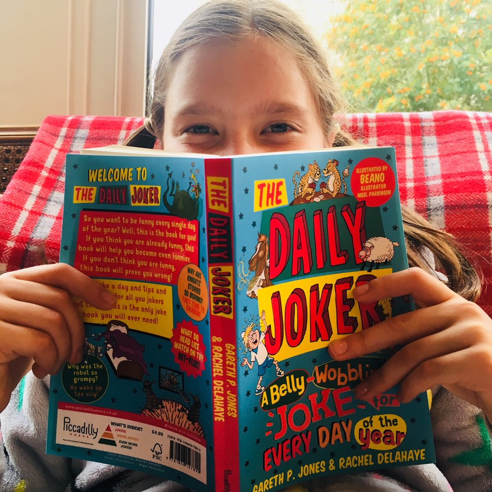 Published today! A joke for every day of the year! Co-written by Rachel Delahaye, one funny lady. - 20 September 2018