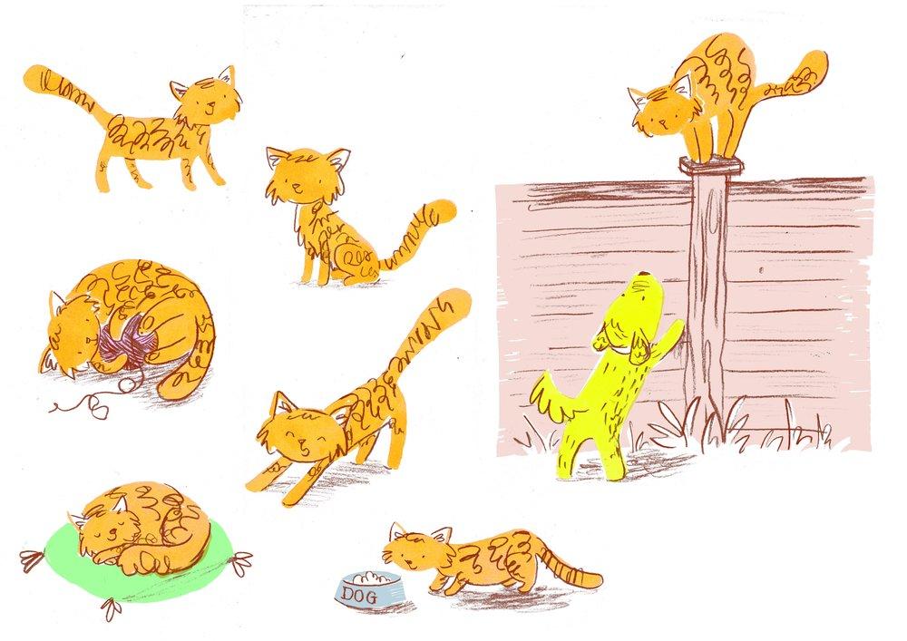Ginger cat sheet 2.jpg