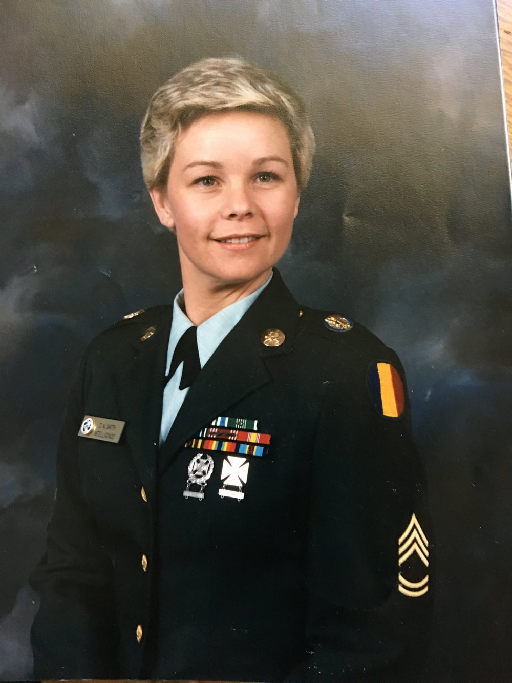 1986 United States Army - Only Woman NCO For Miles