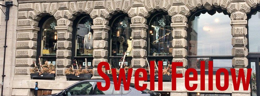 La boutique Swell Fellow, dans le Vieux Montréal.