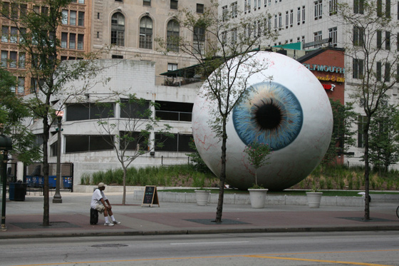 the EYE by Tony Tasset