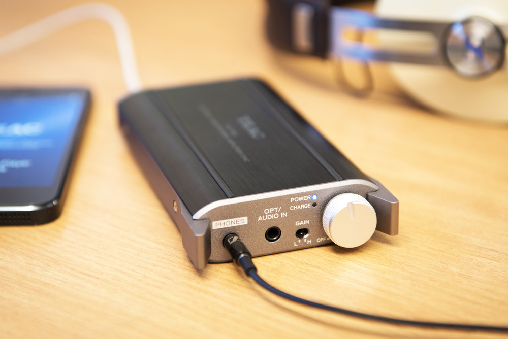 Teac Headphone Amplifier Product Photograph