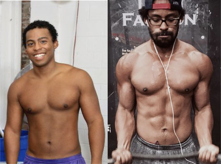 My transformation: 6+ years of work and attention to the details of fitness & nutrition.