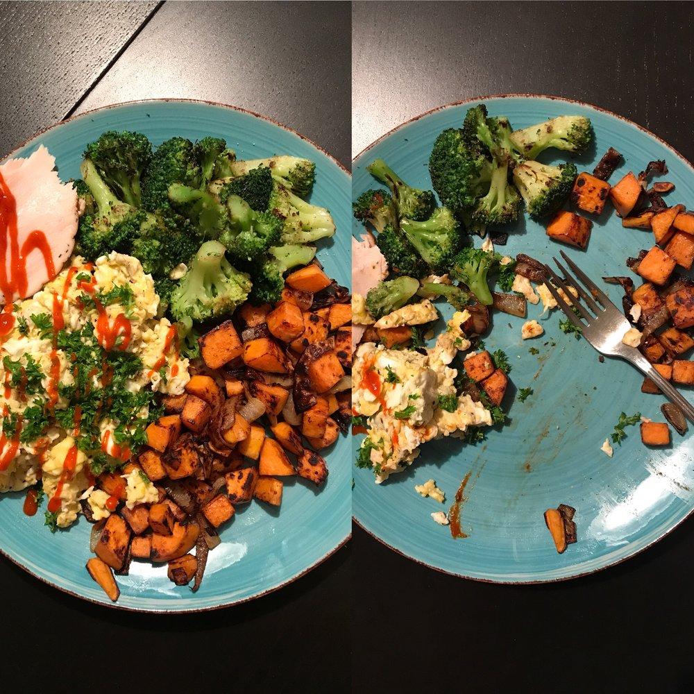 Ya ain't gotta clean ya plate!