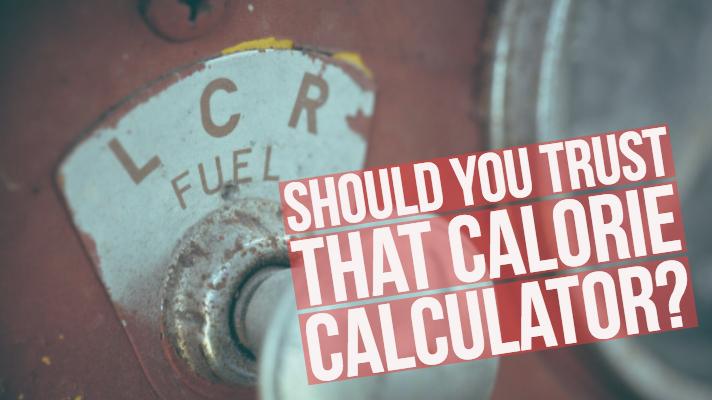 Are online calorie calculators accurate? Brittany lesser.