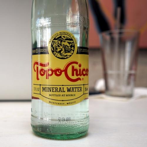 Topo Chico is pretty much bae.