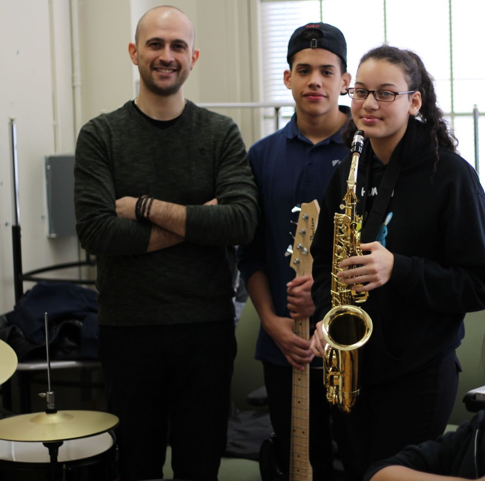 Your Support Matters. - Jazz Empowers is committed to providing excellent jazz education to underserved youth across the country. In the nine cities where we currently operate, we give young aspiring artists opportunities to create music and learn from experienced and passionate teachers.In order for us to run and expand our programs, we need the support of generous music lovers like you. Help us empower students everywhere by making a contribution below!