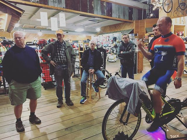 Our thanks to everyone who came out for for our Trainer 101.  #tacx #cycleops #biketrainer #cycling #cyclists #bicycle #wahoo #fit #fitness #fitnessmotivation #workout #bikeshop #bikeshoplife #florencesc