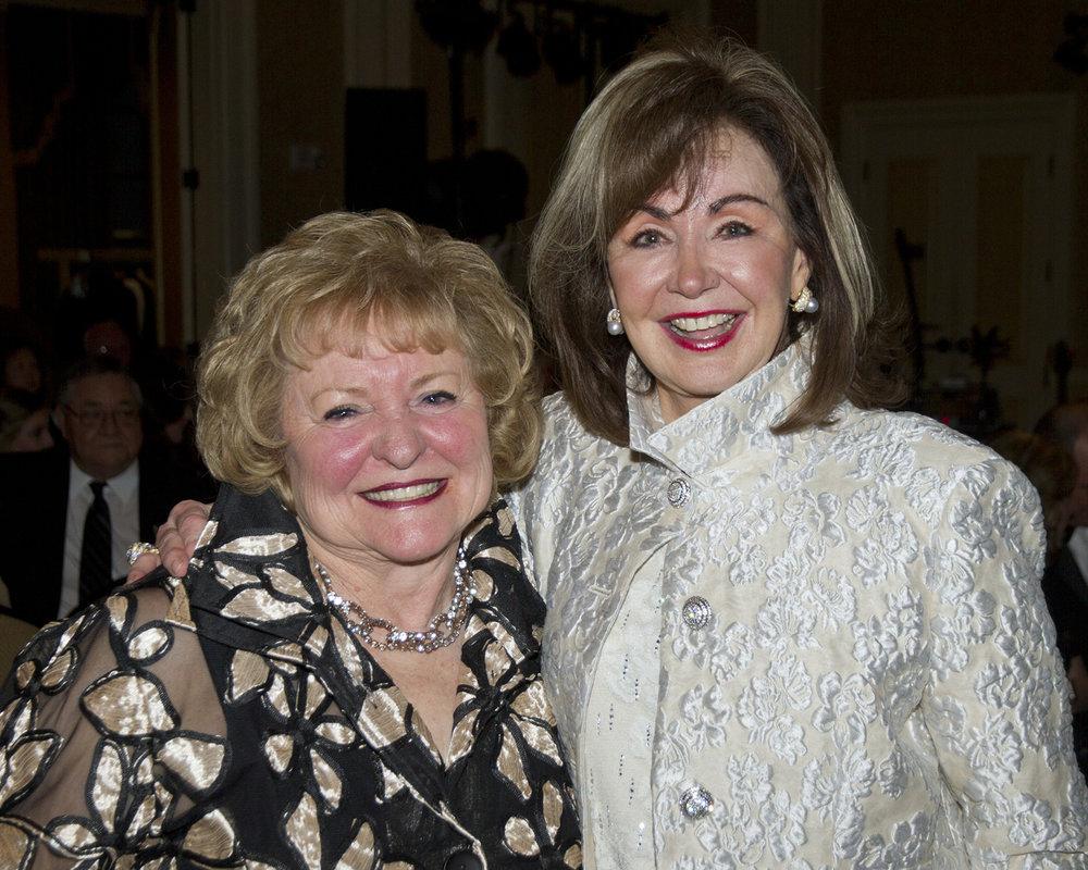 Joan Carter and Judy Morgan