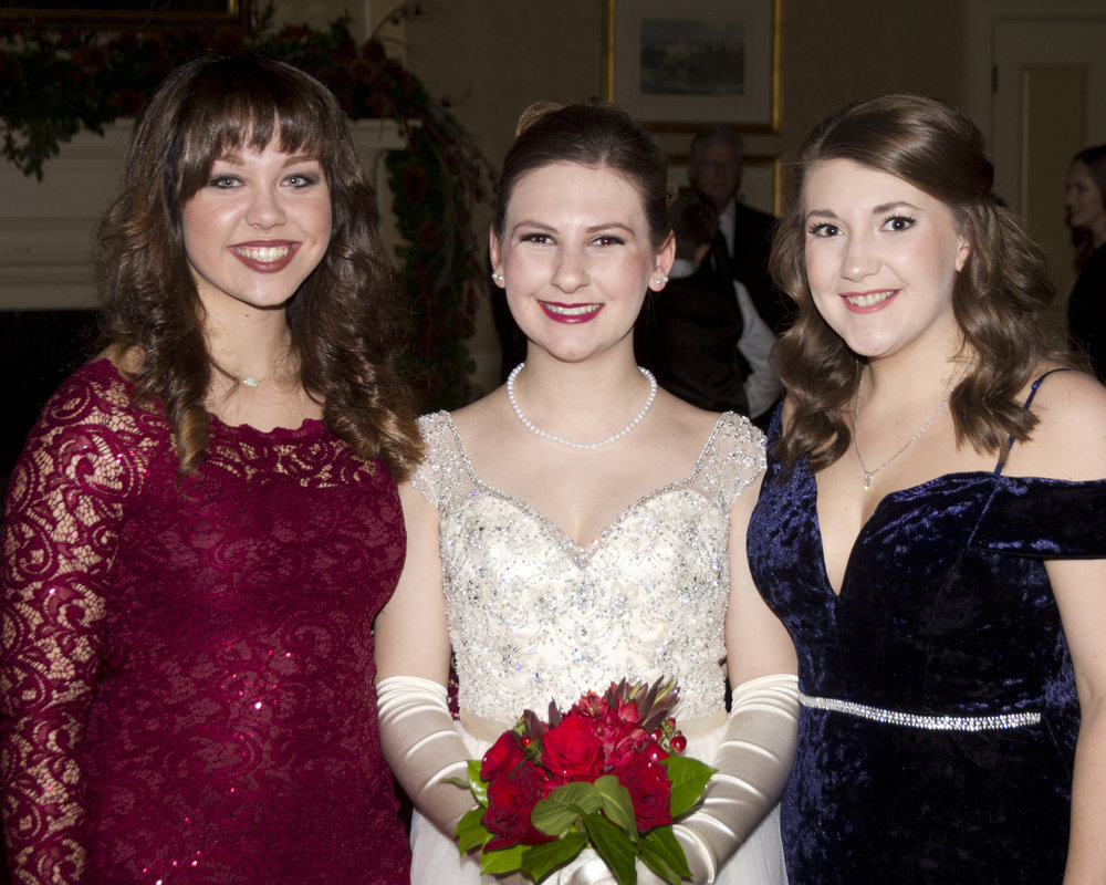 Rebecca Bailey, Elizabeth Tullis and Kellie Chaisson