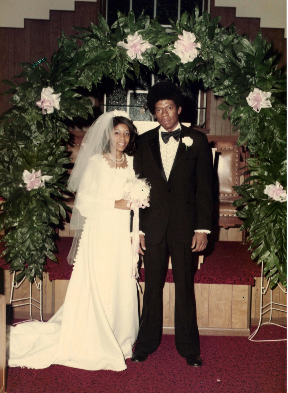 Carolyn and George were married December 22, 1974, at Polly Chapel Baptist Church.