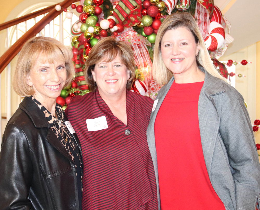 Diann Roy, Trish Reed and Lacy McMillen