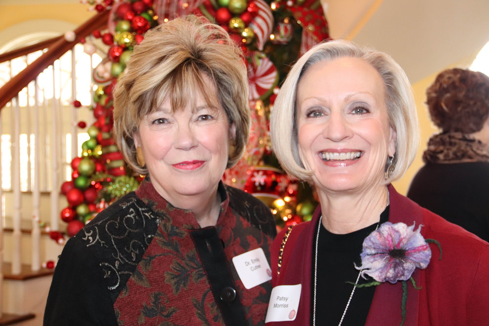 Dr. Emily Cutrer and Patsy Morriss