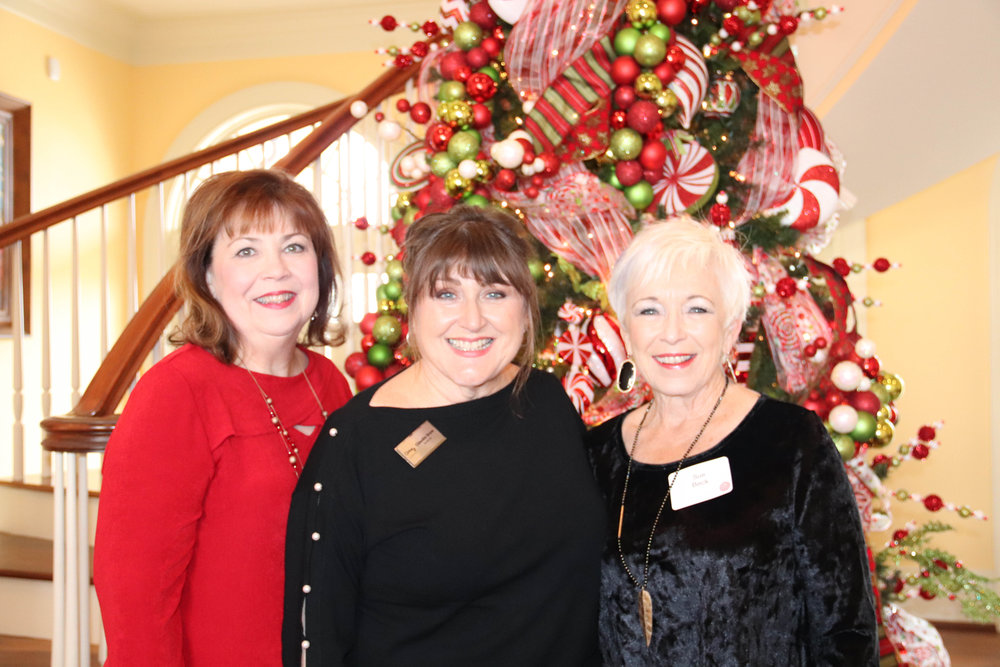Nancy King, Claudia Snow and Sue Beck