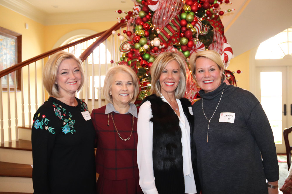 Sara Weber, Martha Prieskorn, Missy White and Mindy Day