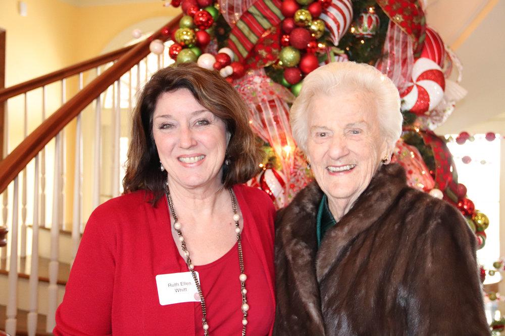 Ruth Ellen Whitt and Martha Morriss