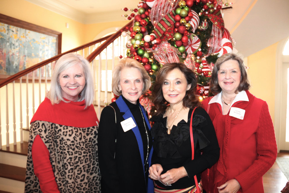 Hon. Sherry Jackson Hawkins, Charlotte Potter, Becky Stuart and Camille McGinnis