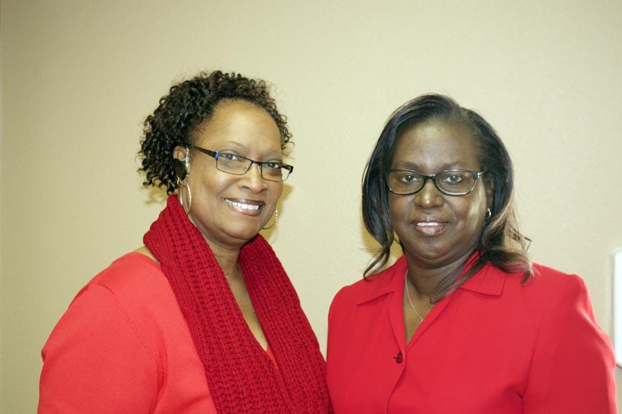 Vickie Waller and Debora Davis
