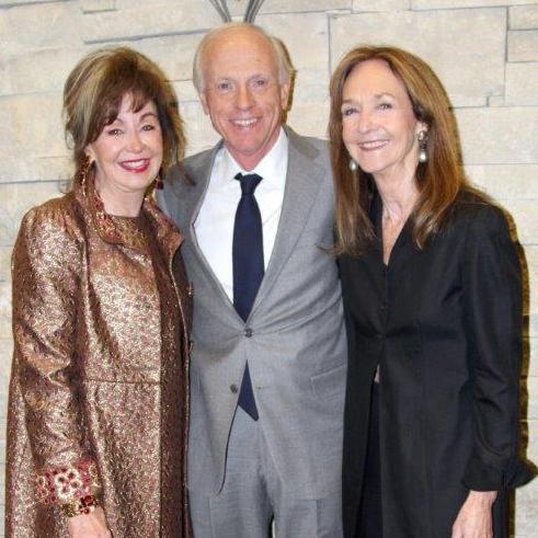 Judy Morgan with Scott and Jane Bruner