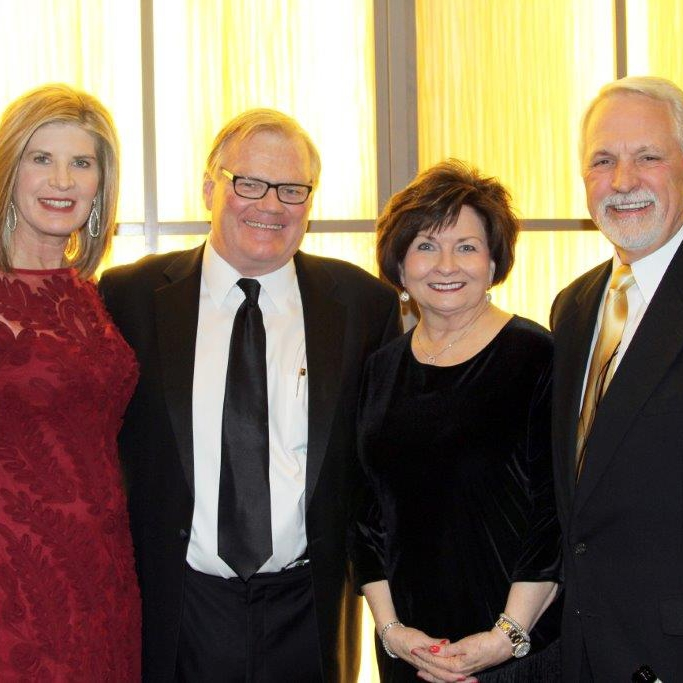 Jamye and Dr. Jeffrey DeHaan with Diane and Curt Green