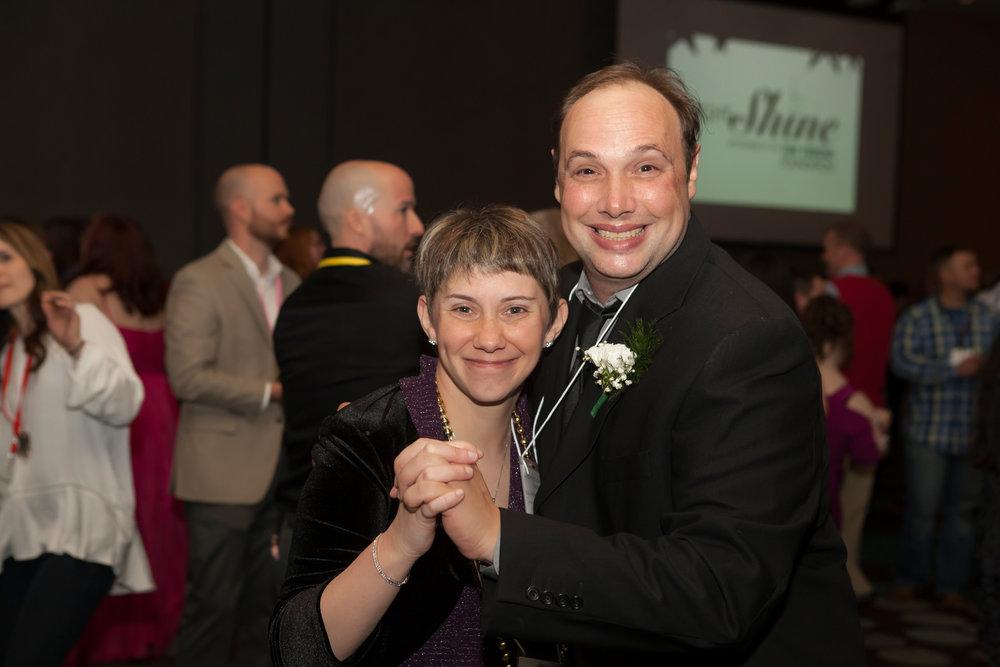 Ashley Abney and Shawn Willard