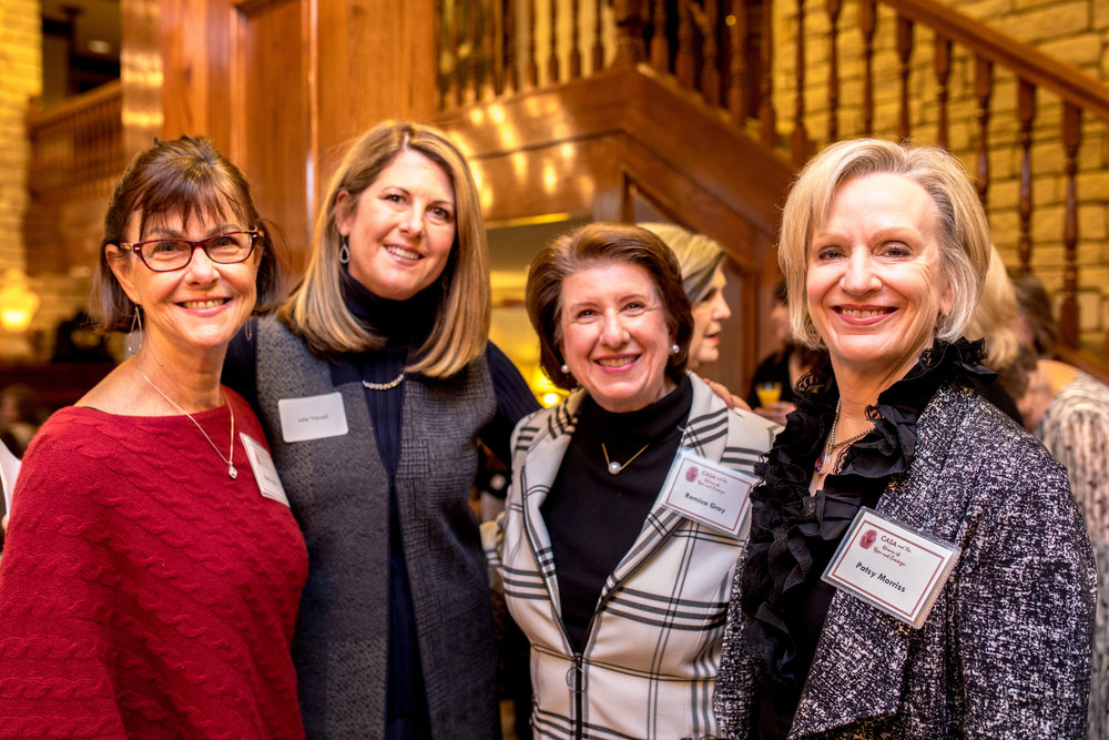 Debbie Alkire, Julie Tidwell, Remica Gray and Patsy Morriss