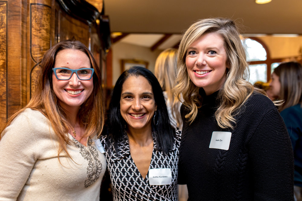 Karrah Dickeson, Anitha Kurichety and Leah Orr