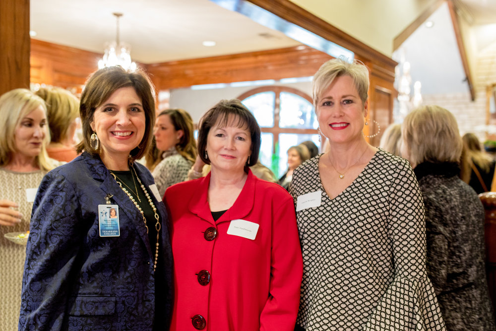Suzy Irwin, Pam VanDeaver and Laurie Burgess