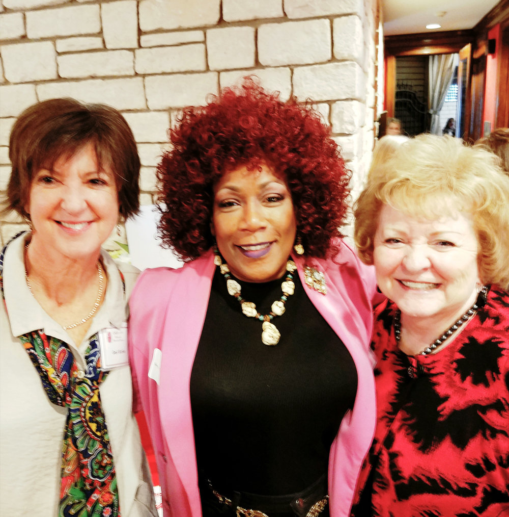 Gail Eichler, Bess Gamble Williams and Joan Carter