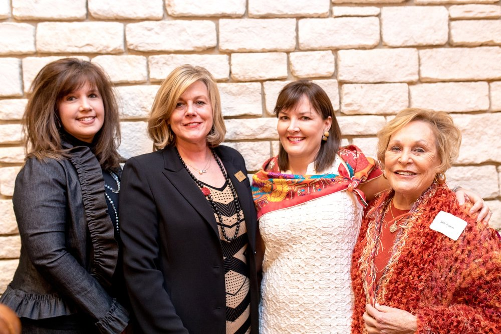 Kathy Lach, Leigh Davis, Amy Thomas and Sally Patton