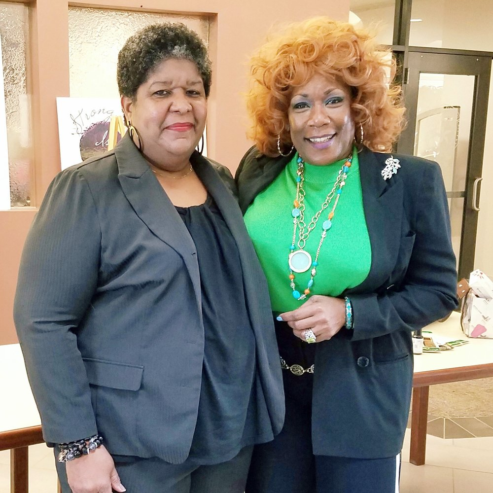 Sharon Smith and Bess Gamble-Williams