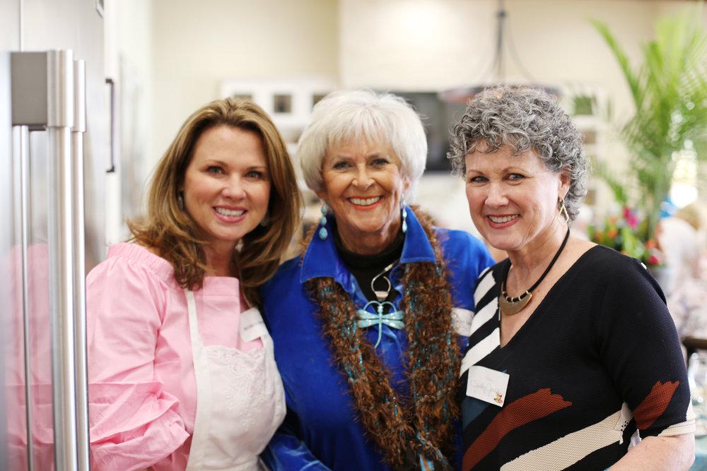 Robin Proctor, Mary Jane Orr and Judy Jones