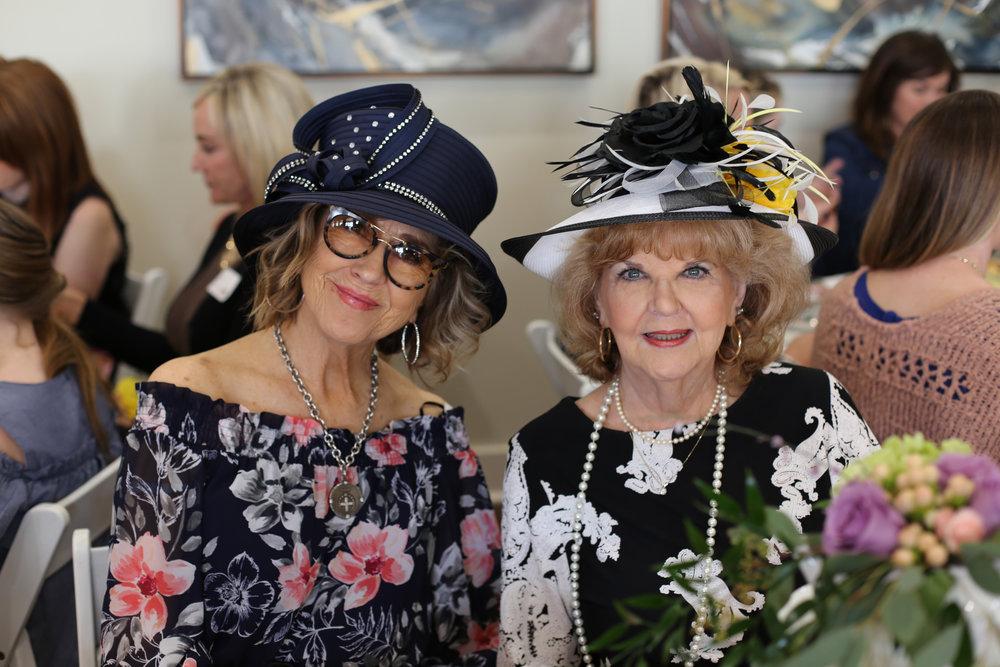 Doris Maia and Pollyann Powers