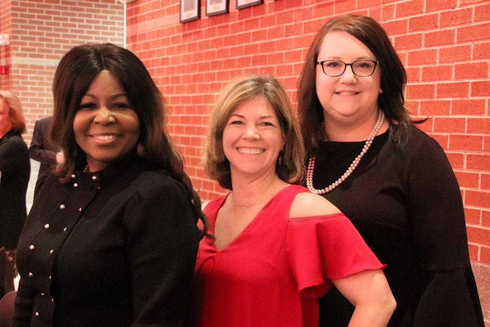 Lekia Jones, Tracey Boyles and Rachel Scott