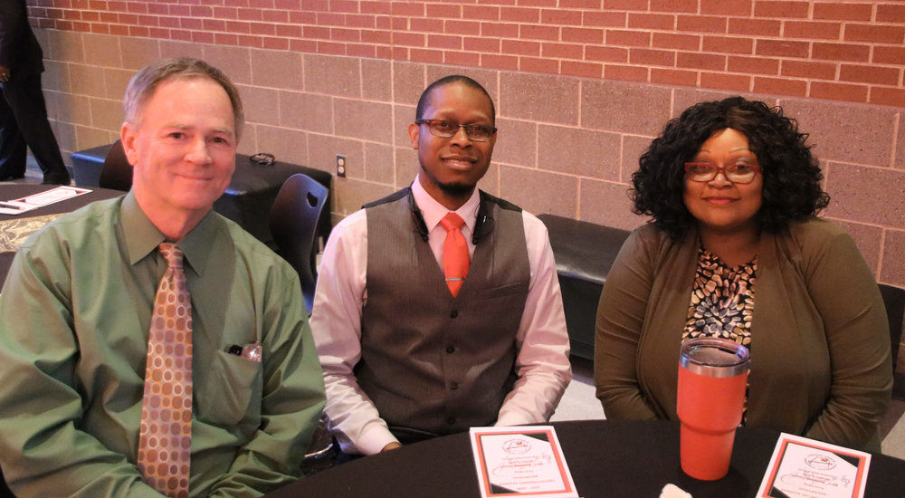 Kevin Hamilton, Demarcus Green and Jackie White