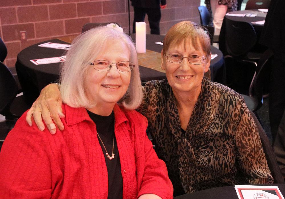 Nancy James and Bobbie Ramey