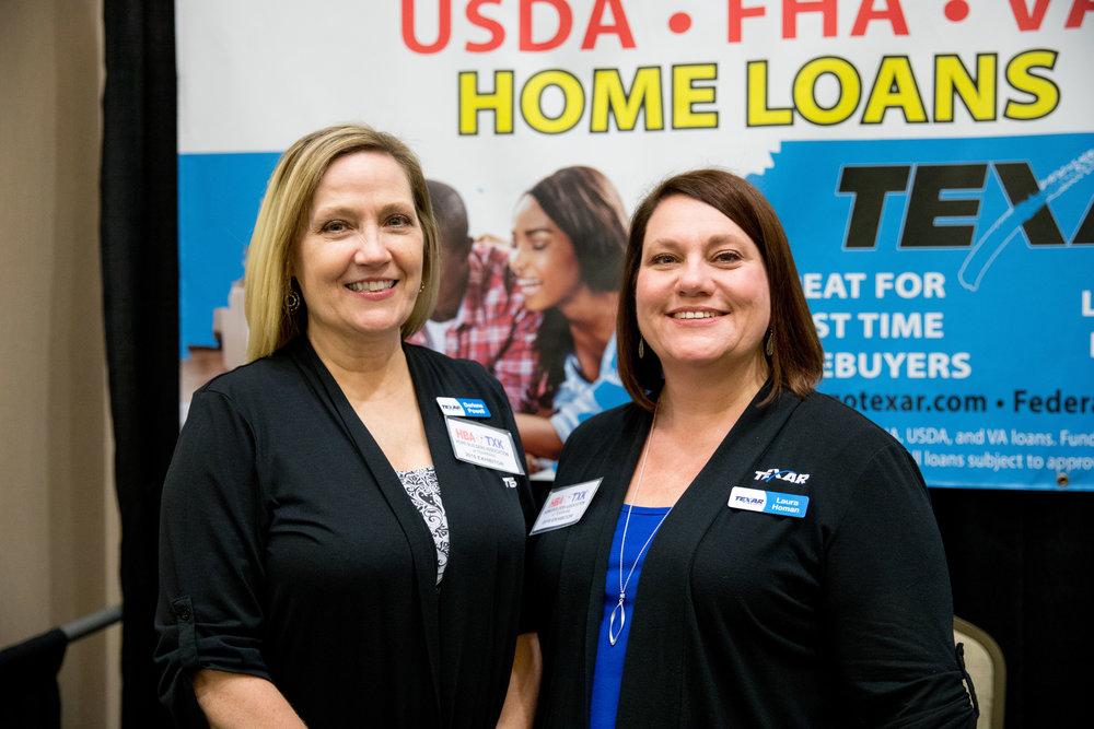 Darlene Powell and Laura Homan