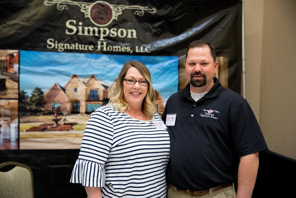 Lisa and Lance Simpson