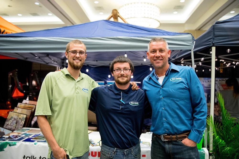 Ace Croffit, Brett McFarland and Jason Vanderhoof