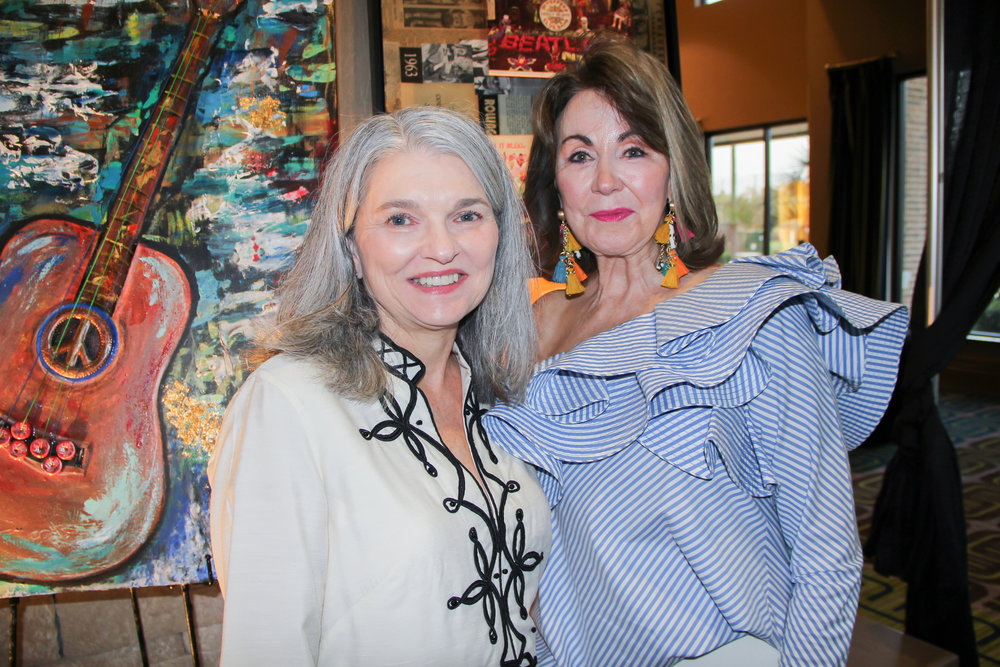 Judy Smith and Judy Morgan
