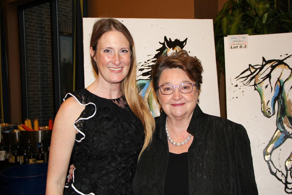 Margaret Mobley and Julia Mobley
