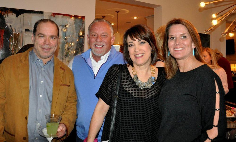 Dr. Brett Dietze, Van Alexander, Jennifer Dietze and Mignon Hervey