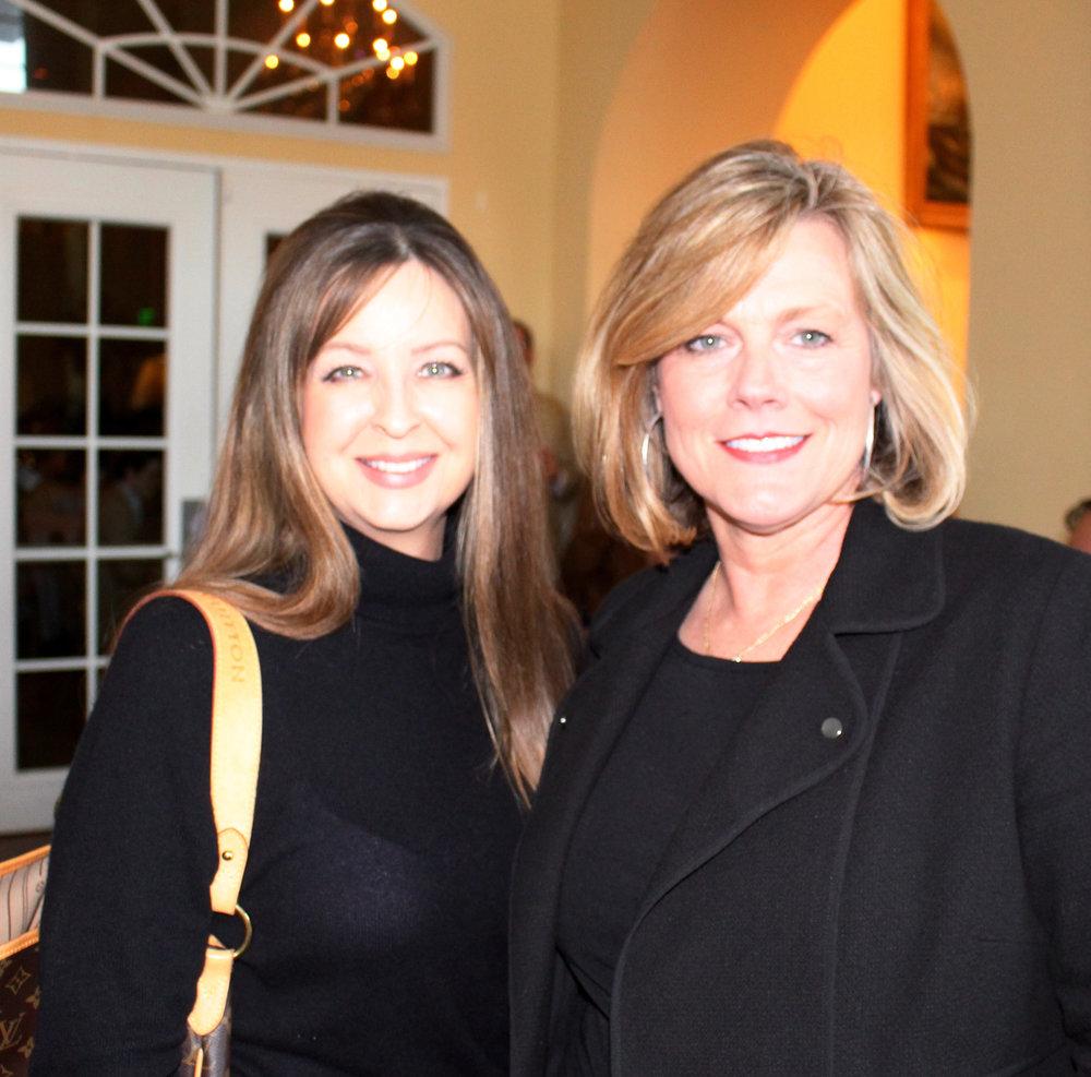 Monica Brannon and Leigh Davis
