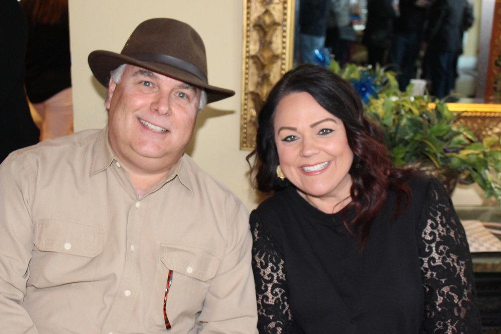 Judge Jeff Addison and Tiffany McFarland